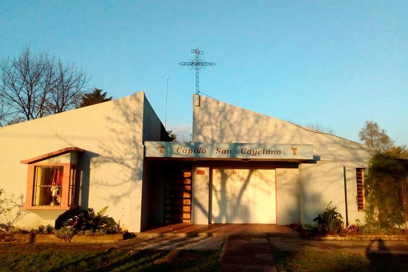 La Teja - Capilla San Cayetano   Casa de Profesos Temporales